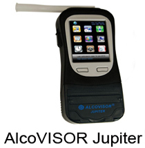 Alcovisor BAC100 Jupiter  Breathalyzer