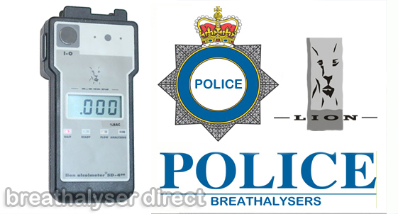 Lion 400 Alcolmeter/Alcometer Police Issue Breathalyser